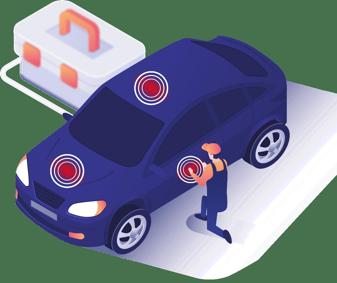 Smart Repair / Spot Repair - Unfall Stegner