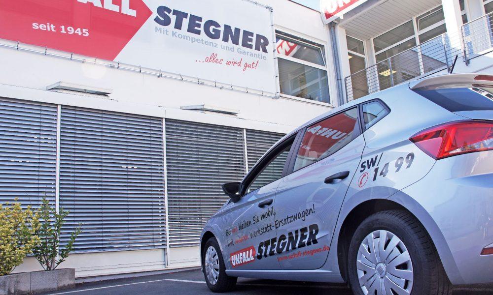 Unfall Stegner - Karosserie- & Lackierzentrum