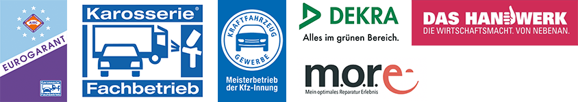 Partner u. Zertifizierung - Unfall Stegner - Karosserie- & Lackierzentrum